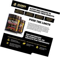 ALTIUS Pre-Workout Supplement - Naturally Sweetened -
