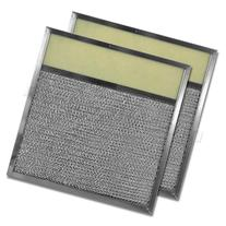 "Aluminum Range Hood Filter with Light Lens - 11-3/8"" X 11-3/"