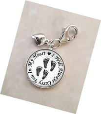 Always In My Heart Twins .925 Sterling Silver Charm