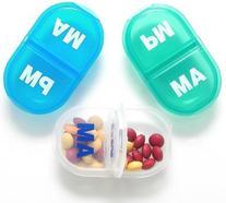 AM/PM Pocket Pill Box-7 Pack