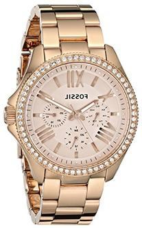 Fossil Women's AM4483 Cecile Multifunction Rose Tone