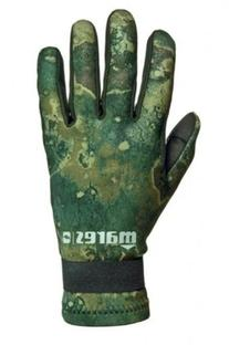 Mares Amara 2mm Green Camo Scuba Diving Gloves - Large