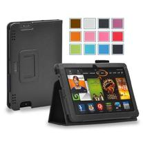 Maxboost Amazon Kindle Fire HDX 7 Case Book Foilo Leather