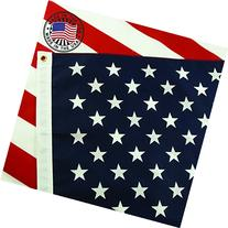 American Flag: 100% Made in USA Certified by Grace Alley.
