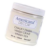 Americana Chalky Finish Paint 8Oz-Lace