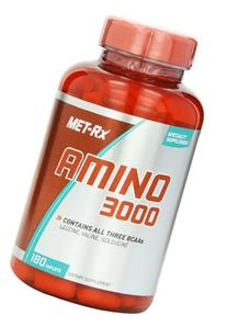 MET-Rx Amino 3000 Tablet, 180 Count