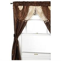 Regal Home Collections Amore 54-Inch by 84-Inch Window Set