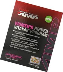 GNC Pro Performance AMP Women's Ripped Vitapak Program