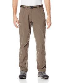 ExOfficio Men's Amphi Short Length Pants, Cigar, 34