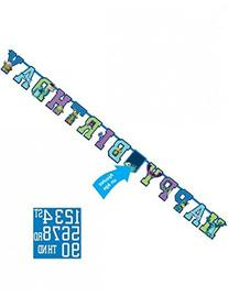 Amscan Add an Age Letter Banner Party Accessory