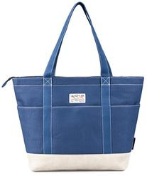 HotStyle AMY Womens Canvas Top Zip Tote Bag Laptop Handbag