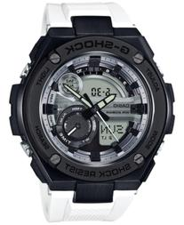 G-Shock Men's Analog-Digital G-Steel White Resin Strap Watch