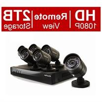 LaView 8-channel 1080p HD Analog and IP DVR Security System