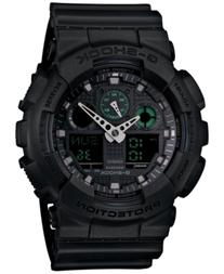 G-Shock Men's Analog-Digital Black Resin Strap Watch 55x52mm