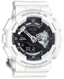 G-Shock Women's Analog-Digital S Series White Bracelet Watch