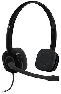Logitech 3.5 mm Analog Stereo Headset H151 with Boom