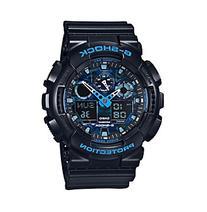 G-Shock Men's XL Analog-Digital Black with Blue Accents