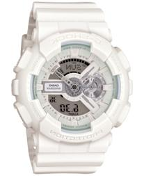 G-Shock Men's Analog-Digital Whiteout White Strap Watch