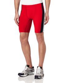 ASICS Men's Anchor Short, Red/White, Small