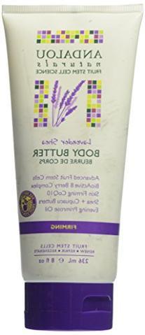 Andalou Naturals Body Butter, Lavender Shea, 8 Ounce