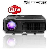 CAIWEI Led Android Projector LCD Portable 1080P Full Hd