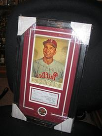 ANDY SEMINICK PERSONAL CHECK - FRAMED - PHILLIES
