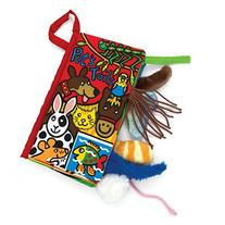 Tenworld Animal Tails Cloth book Baby Early Development