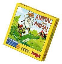 HABA Animal Upon Animal - Classic Wooden Stacking Game Fun