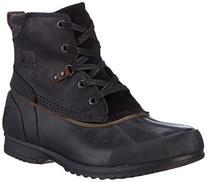Sorel Men's Ankeny Snow Boot, Black, Grill, 11 D US