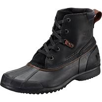 Sorel Men's Ankeny Snow Boot, Black, Grill, 11.5 D US