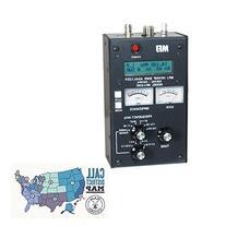 MFJ Antenna analyzer, HF/VHF, w/meters and Ham Guides