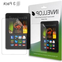 INVELLOP ANTI-GLARE 3-pack Screen protectors for Kindle Fire