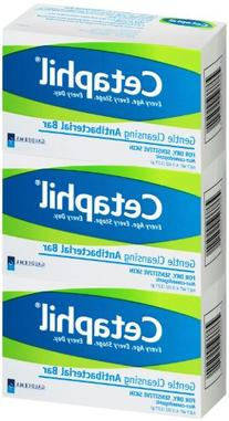 Cetaphil Antibacterial Gentle Cleansing Bar - 4.5 oz - 3 pk