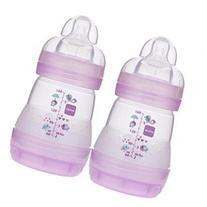 MAM Anti-Colic 5 Ounce Bottle 2 Pack - Girl