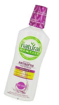 Natural Dentist Antiseptic Rinse Cool Mint - 16.9 fl oz