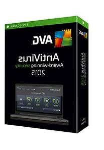 AVG ANTIVIRUS 2015, 3 USERS 2 YEARS