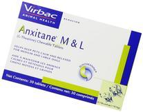 Virbac Anxitane Tablets, Medium/Large Dog, 100 mg, 30 Count
