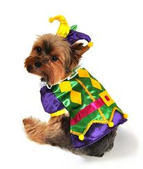 Anit Accessories AP1089-S Royal Harlequin Dog Costume