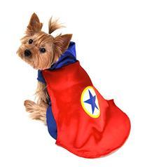 Anit Accessories AP1090-L Superhero Dog Costume, Red