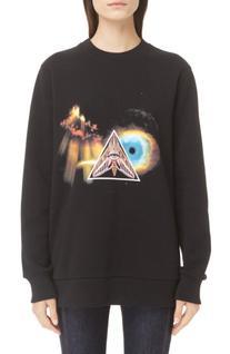 Women's Givenchy Apocalypse Print Cotton Sweatshirt
