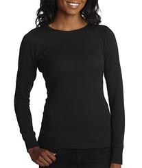 Next Level Apparel Ladies Soft Long-Sleeve Thermal T-Shirt,