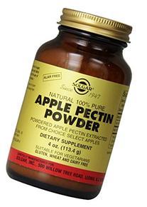 Solgar Apple Pectin Powder Supplement, 4 Ounce