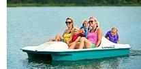 Sun Dolphin AQUA 5 Seat UV-Stabilized Pedal Boat w/ Warranty