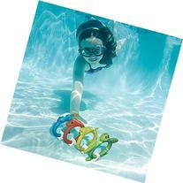 Set of 4 Aqua Fun Animal Rings Multi-colored Swimming Pool