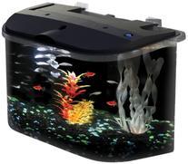 API Panaview Aquarium Kit with LED Lighting and Power Filter