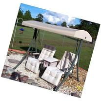 Arched Top with Armrest Swing Replacement Canopy