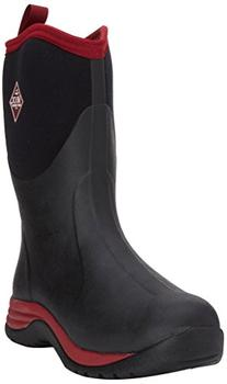 Muck Mens Arctic Commuter Boot Black Red Size 11