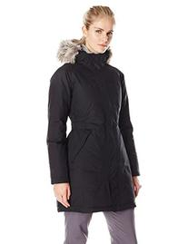 Women's The North Face Arctic Parka Jacket Black Size X-Large