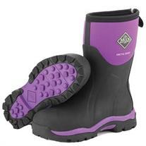 Muck Boots Women's Arctic Weekend Women's 11 Black/Purple