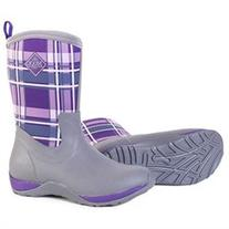 Arctic Weekend Gray/Acai Plaid - Womens Size 7 Arctic
